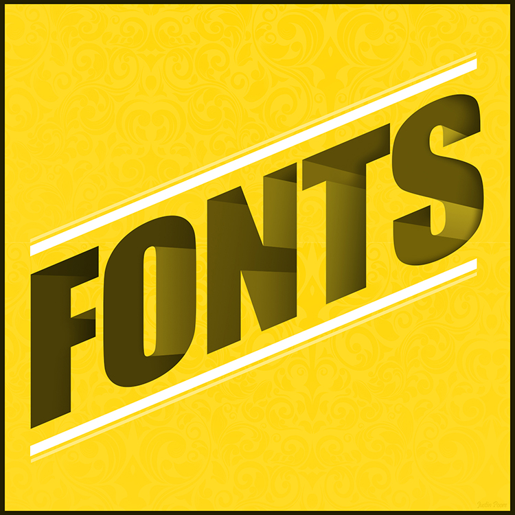Fonts Typography Graphic