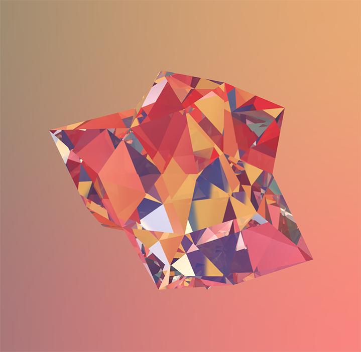 Low Poly Diamond