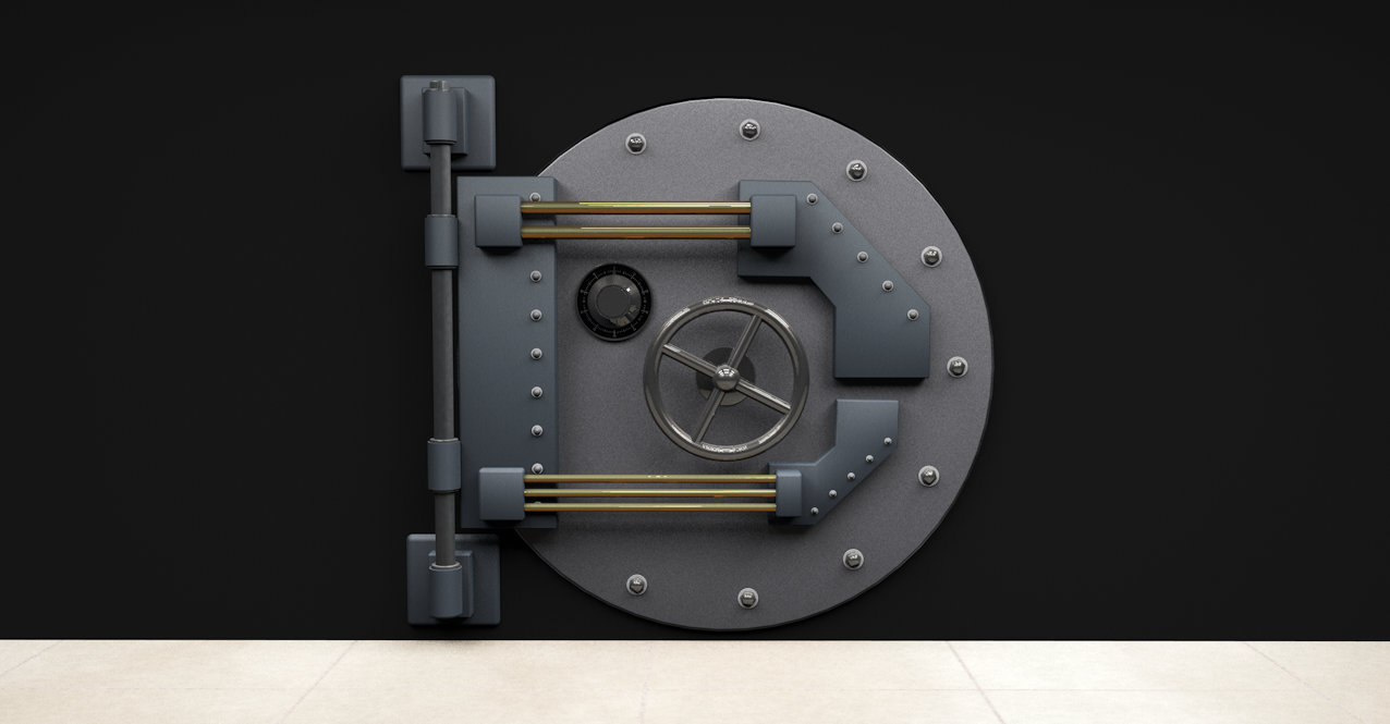 Cinema 4D Bank Vault