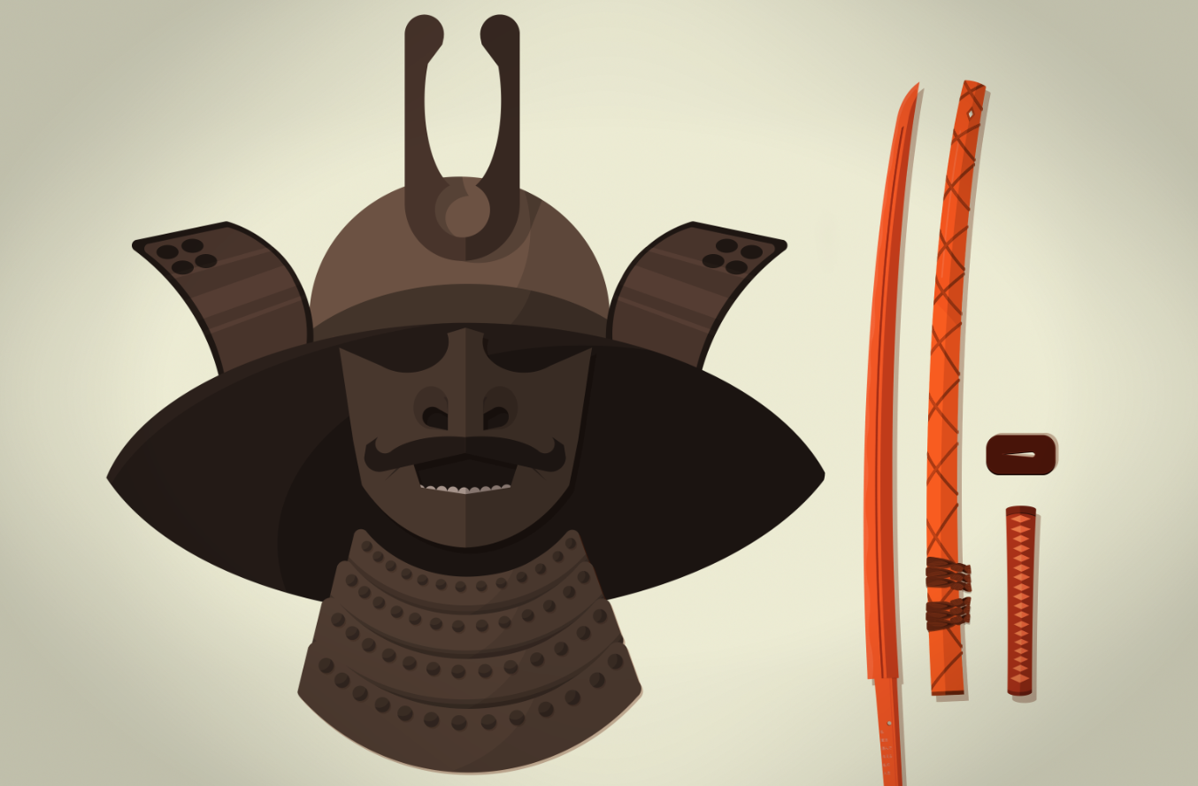 Samurai Mask infographic