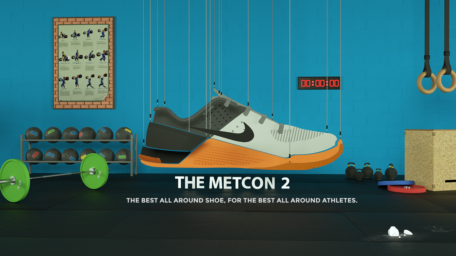 NIKE Metcon Illustration